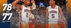 Auburn-New Mexico State's nail-biting finish