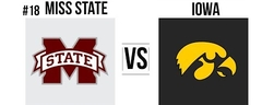 2019 Outback Bowl Mississippi State vs Iowa