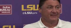 LSU Head Coach Ed Orgeron