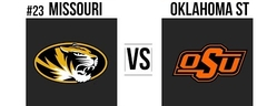 Liberty Bowl #23 Missouri vs Oklahoma State