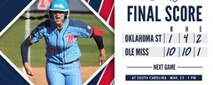 Ole Miss Softball defeats Oklahoma State 10-1