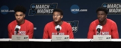 Ole Miss Men's Basketball - Players First Round Press Conference