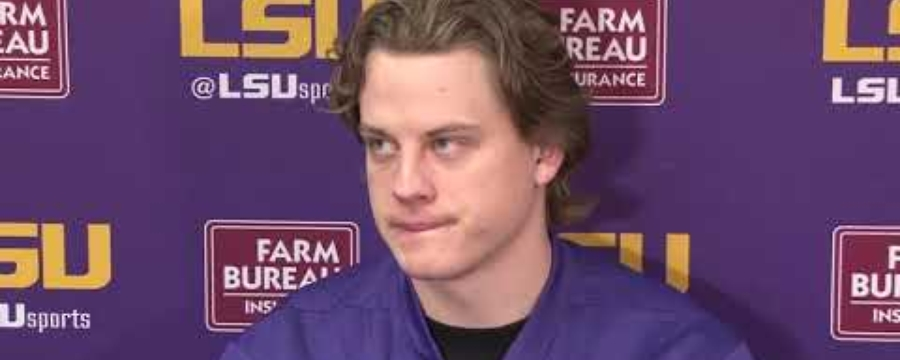 """It feels like a lifetime,"" Joe Burrow"