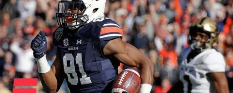 Auburn scores record 56 1st-half points vs. Purdue in Music City Bowl