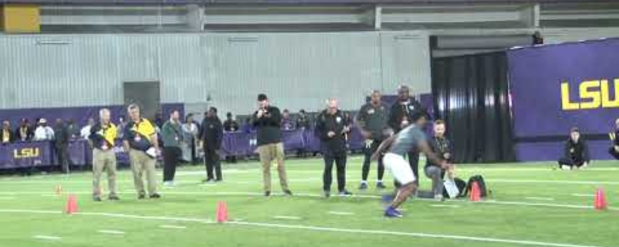 LSU PRO DAY HIGHLIGHTS